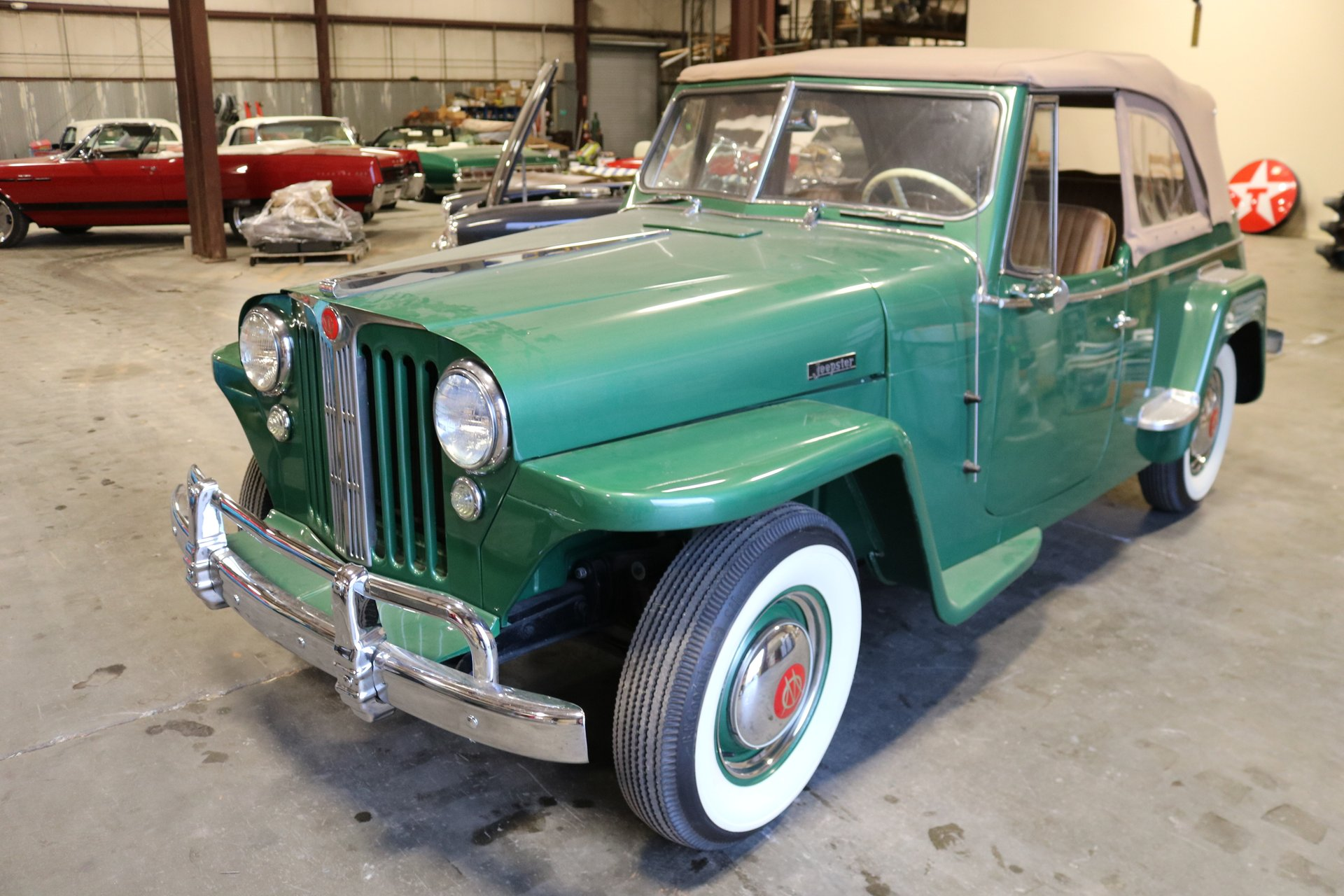 1948 willys jeepster overland
