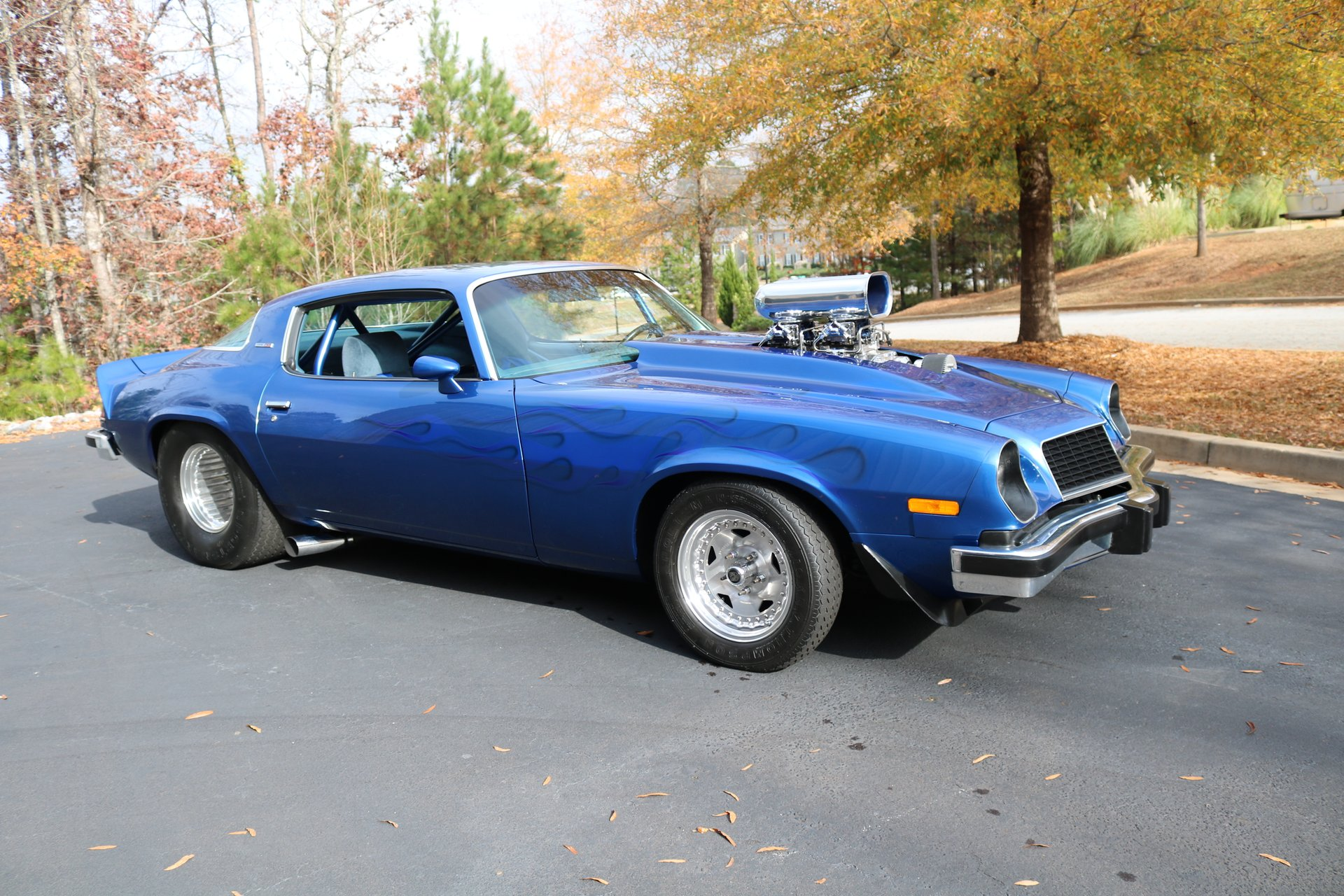 1976 chevrolet camaro custom coupe