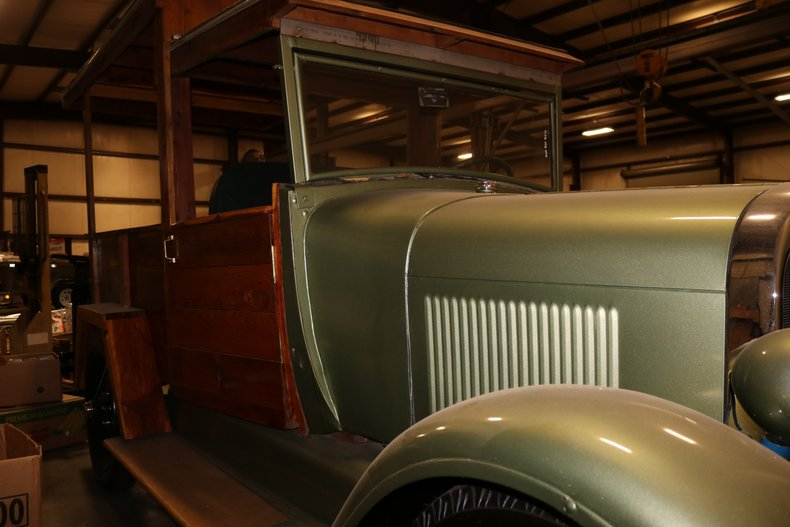 1928 ford model a produce truck