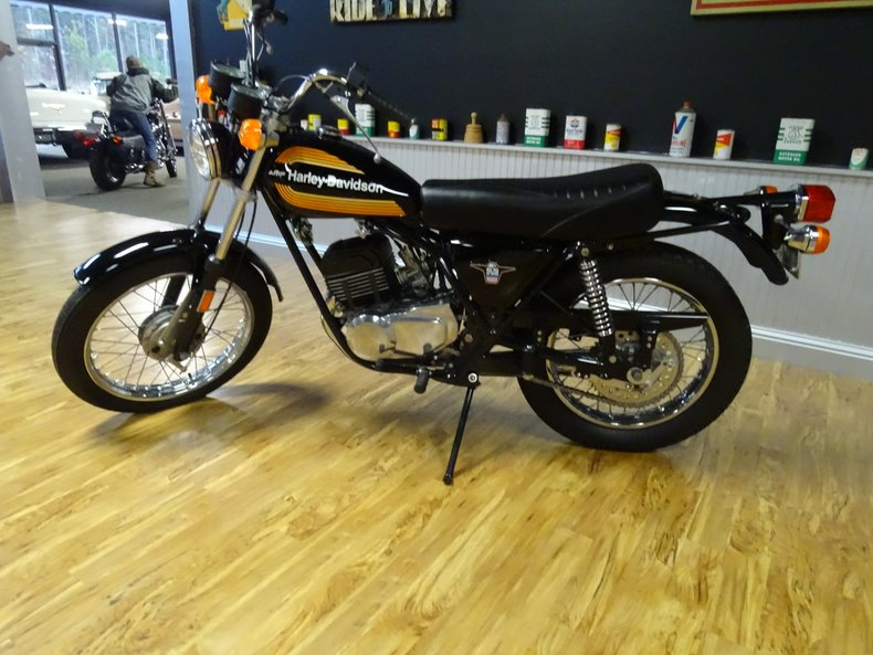 1976 harley davidson ss 250 amf