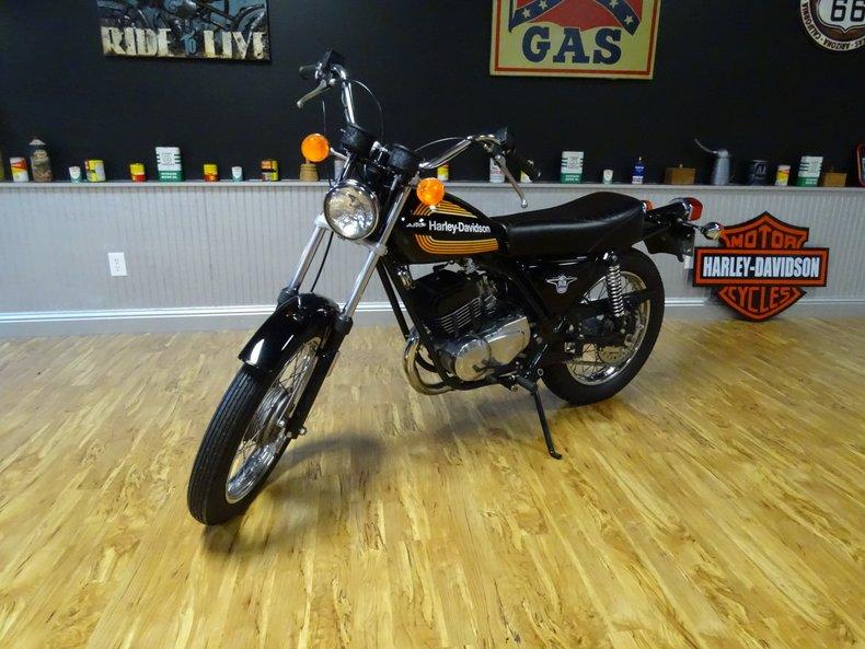 1976 Harley Davidson SS 250
