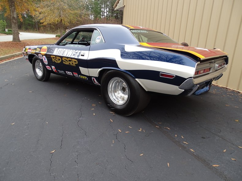 1971 dodge challenger drag car
