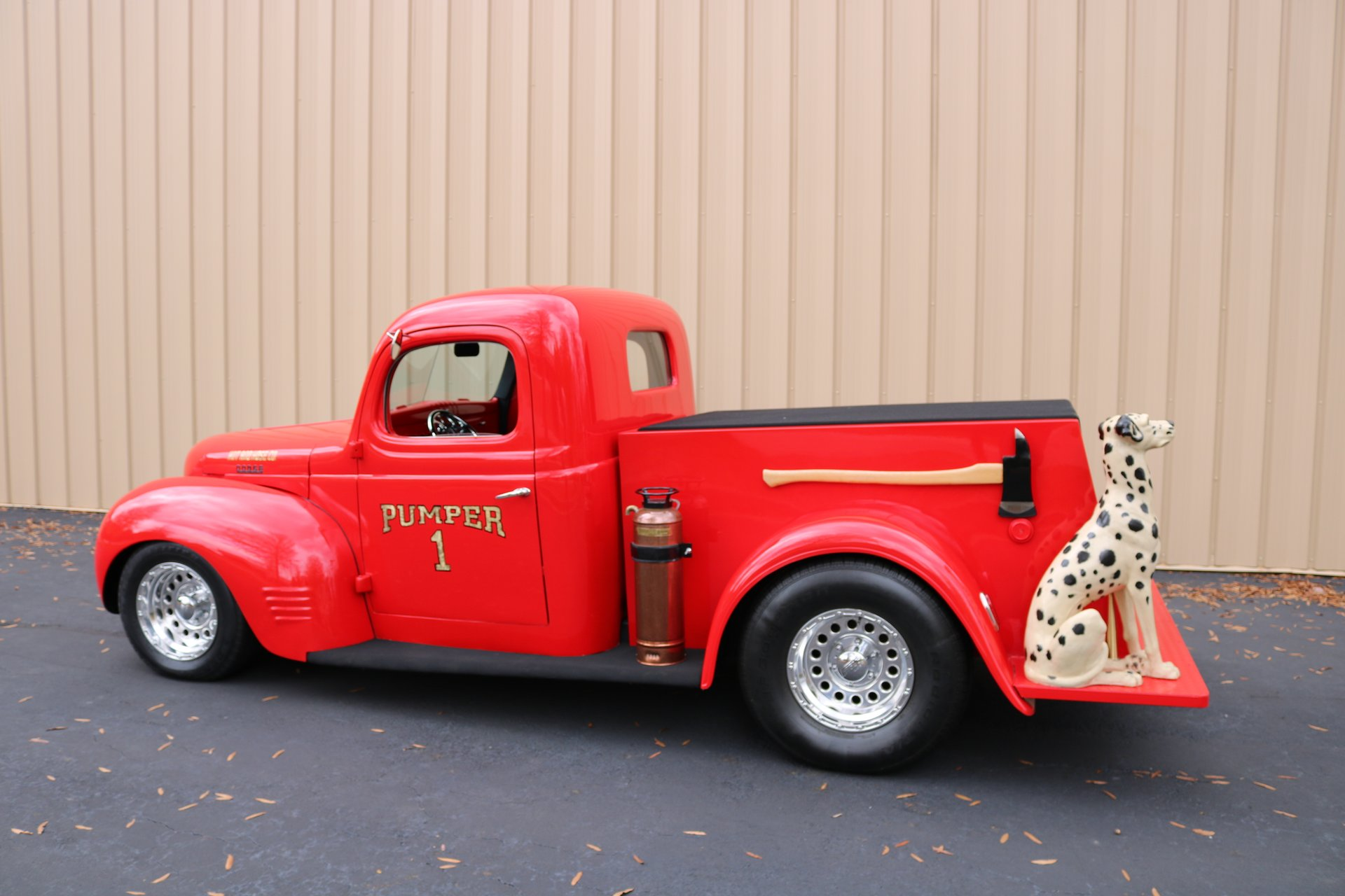 1940 dodge custom fire truck