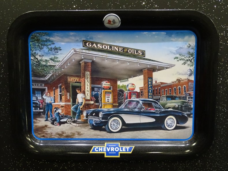 Chevrolet Trays along with Coca Cola Tray | GAA Classic Cars