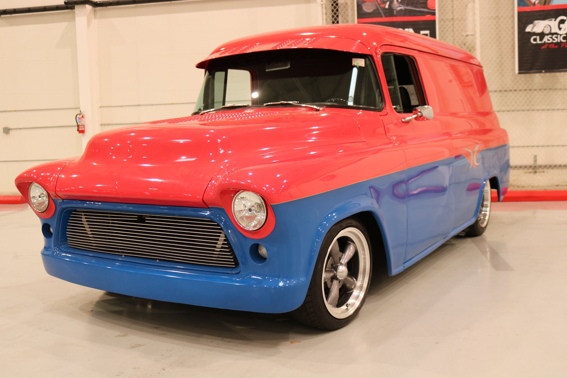 1955 chevrolet custom panel delivery