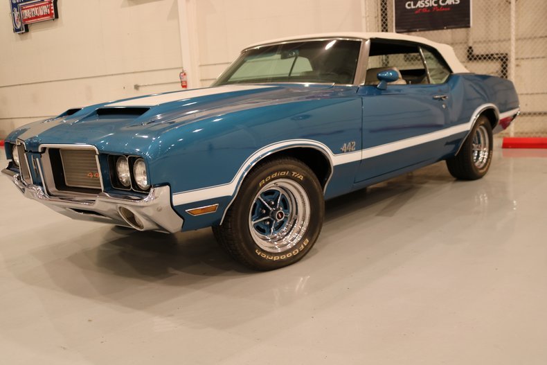 1972 oldsmobile cutlass 442
