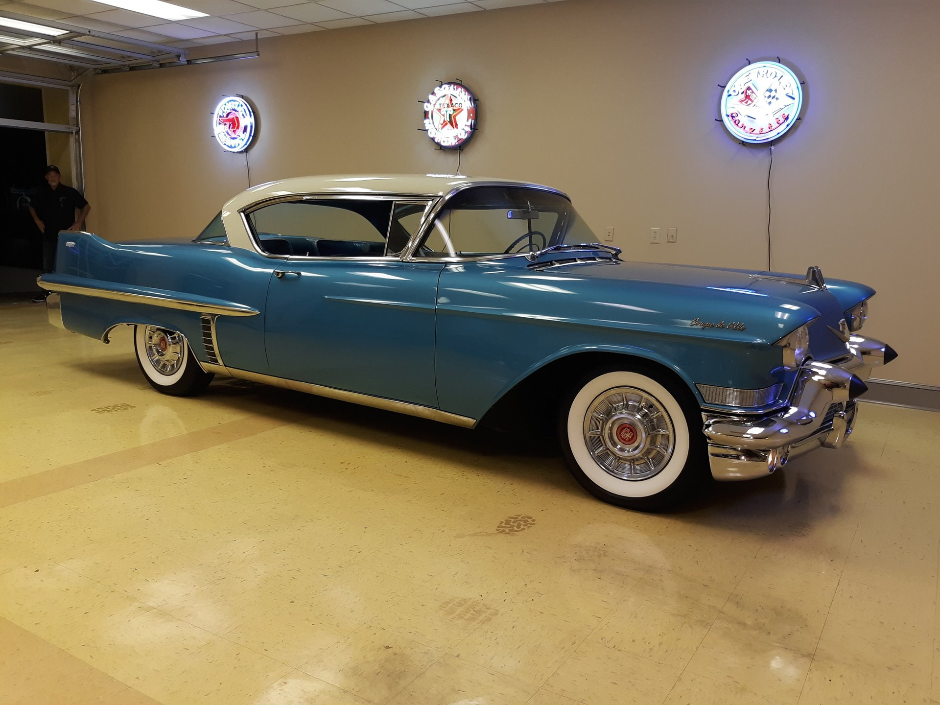 1957 cadillac 62 series coupe deville