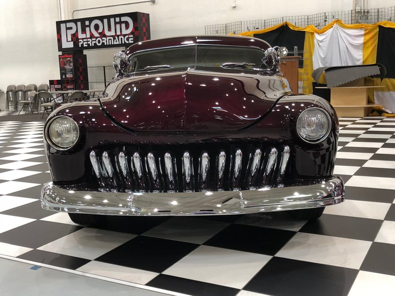 1950 mercury 2 door sedan