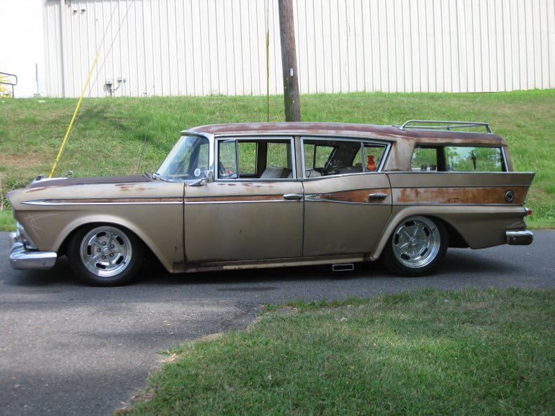 1959 rambler nash wagon