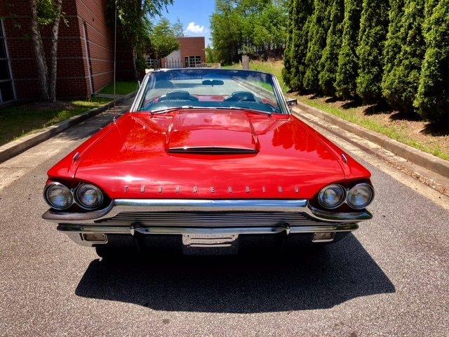 1964 ford thunderbird sport roadster