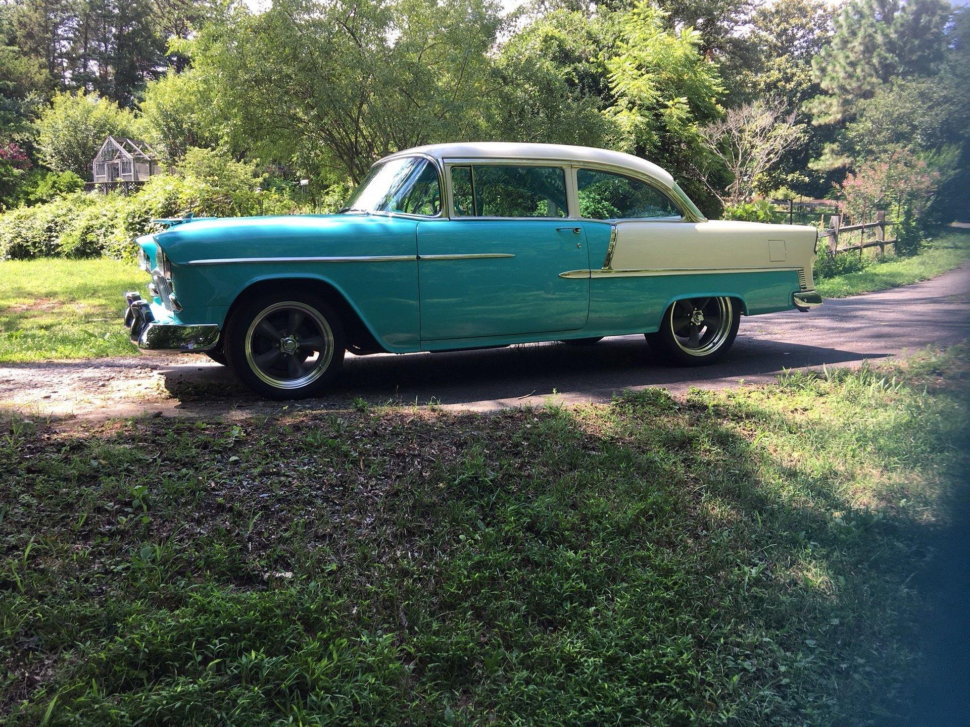 1955 chevrolet bel air replica