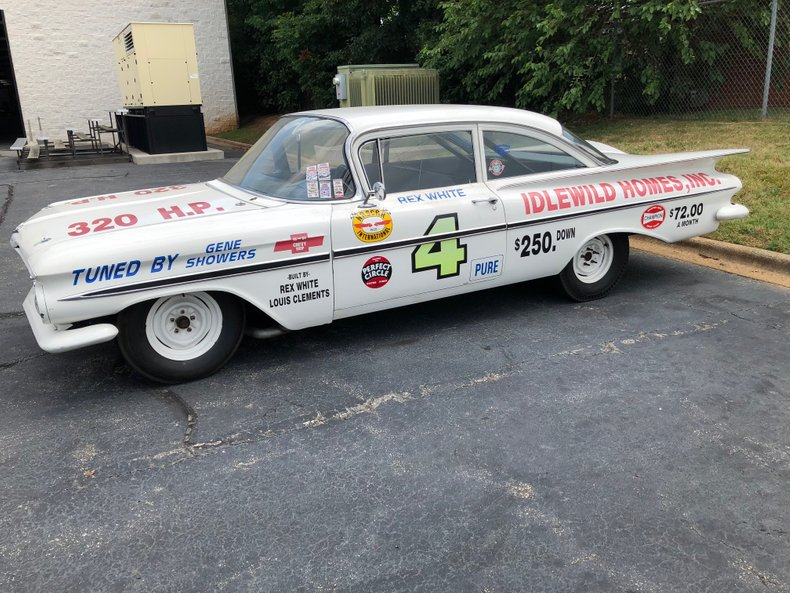 1959 chevrolet bel air race car