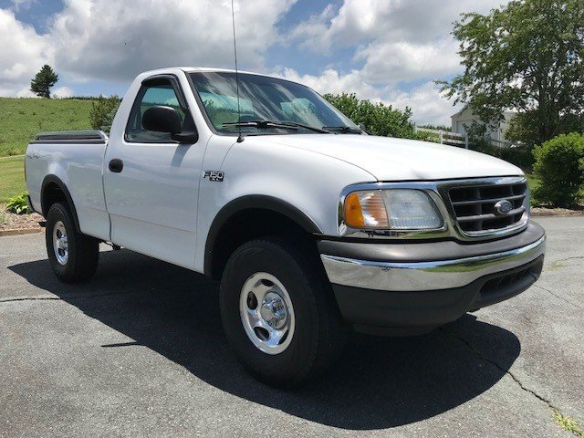2001 ford pickup 4x4