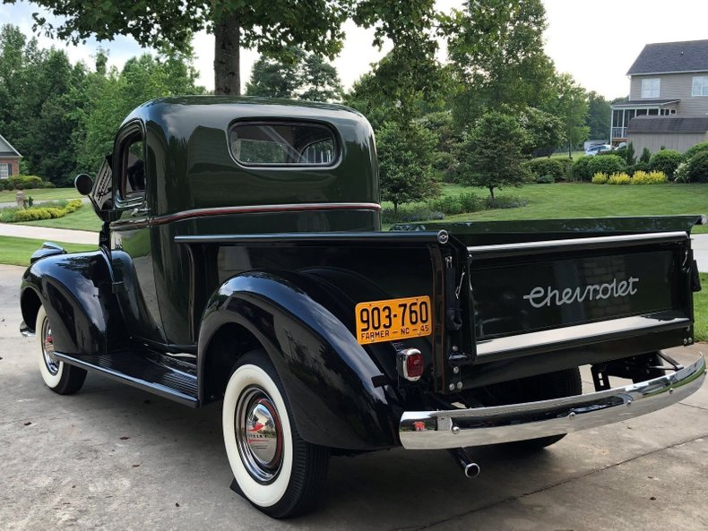 1945 chevrolet pickup ak series