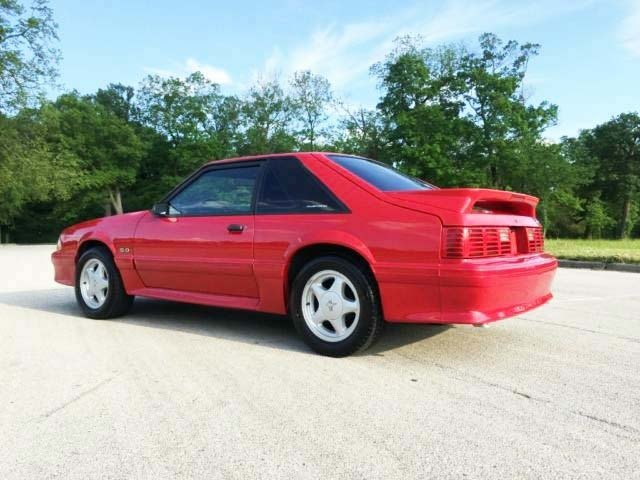 91 Mustang Gt >> 1991 Ford Mustang Gaa Classic Cars