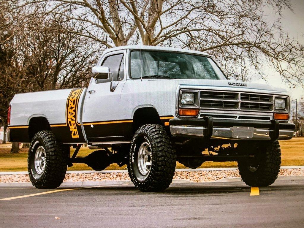 1990 dodge w150 power wagon