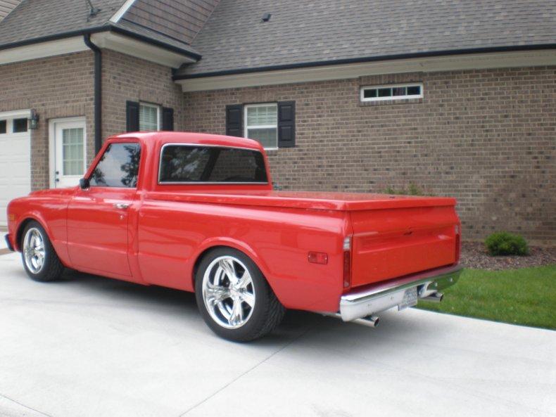 1968 chevrolet c10 1 2 ton pickup