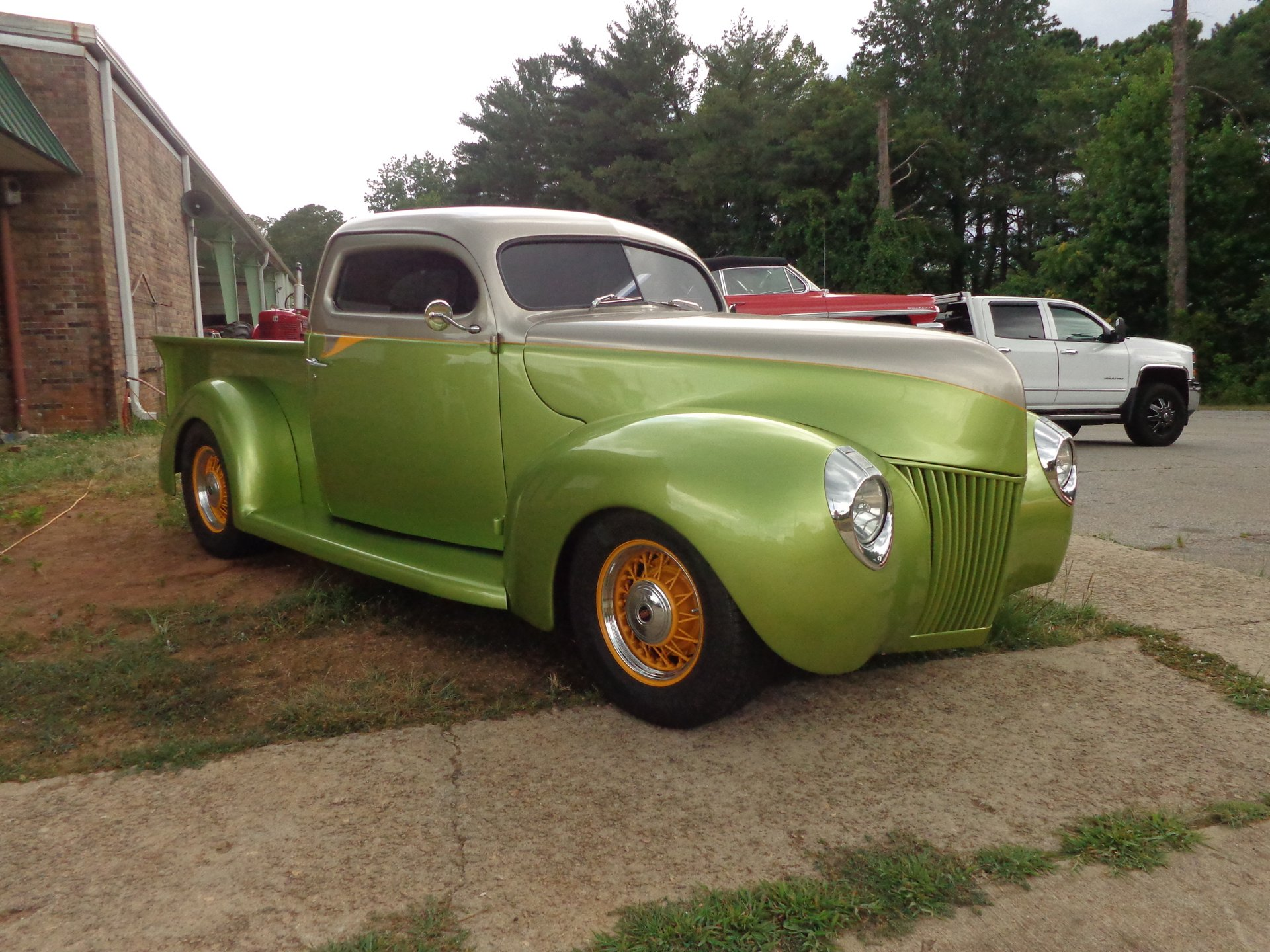 1940 ford custom street rod