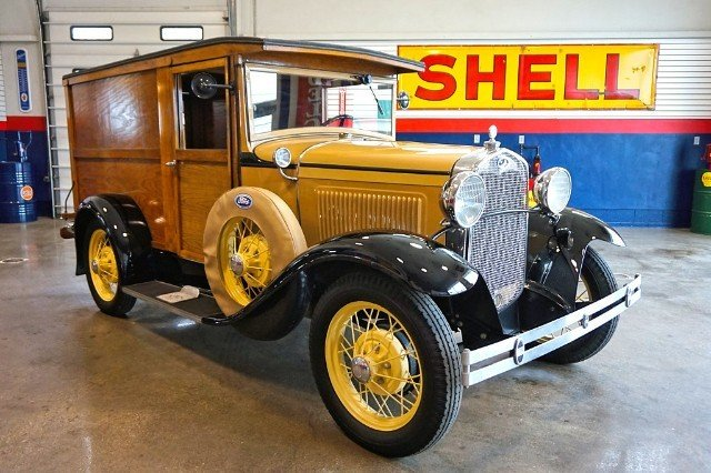 1931 ford model a panel truck