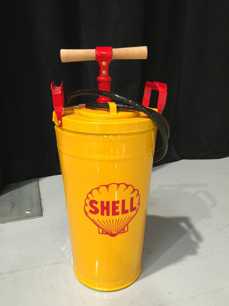 Shell Hand Pump