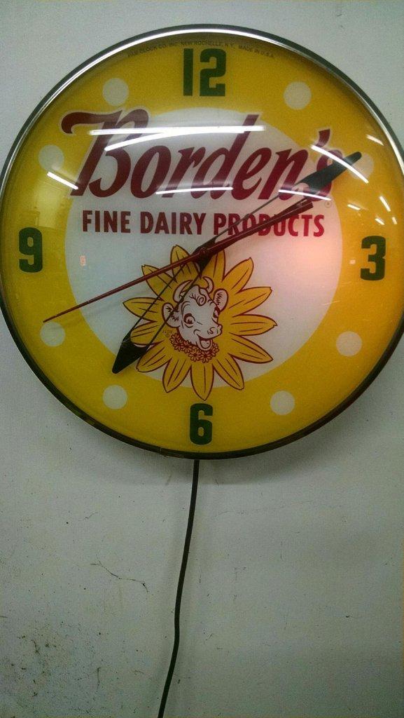 Borden's Clock