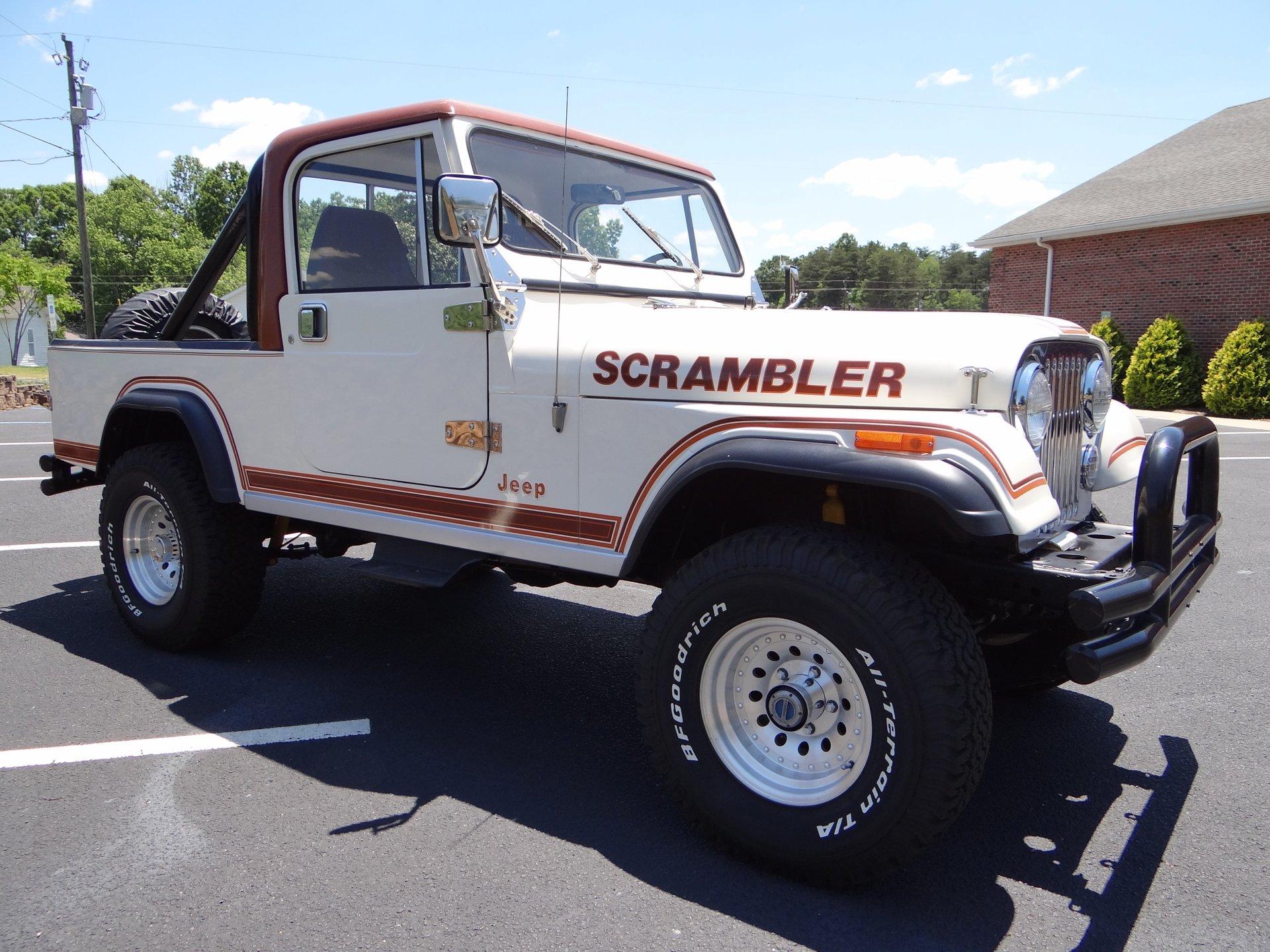 1982 american motors cj8 scrambler