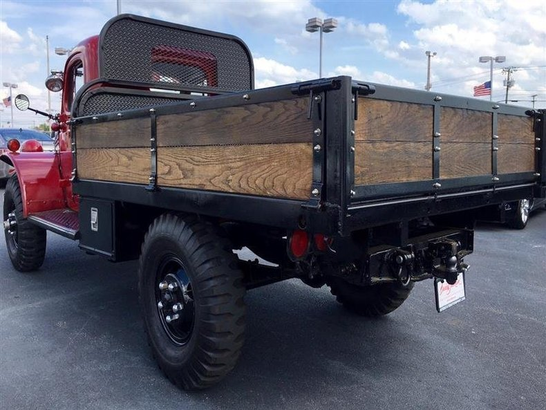 1957 dodge power wagon flat bed dump