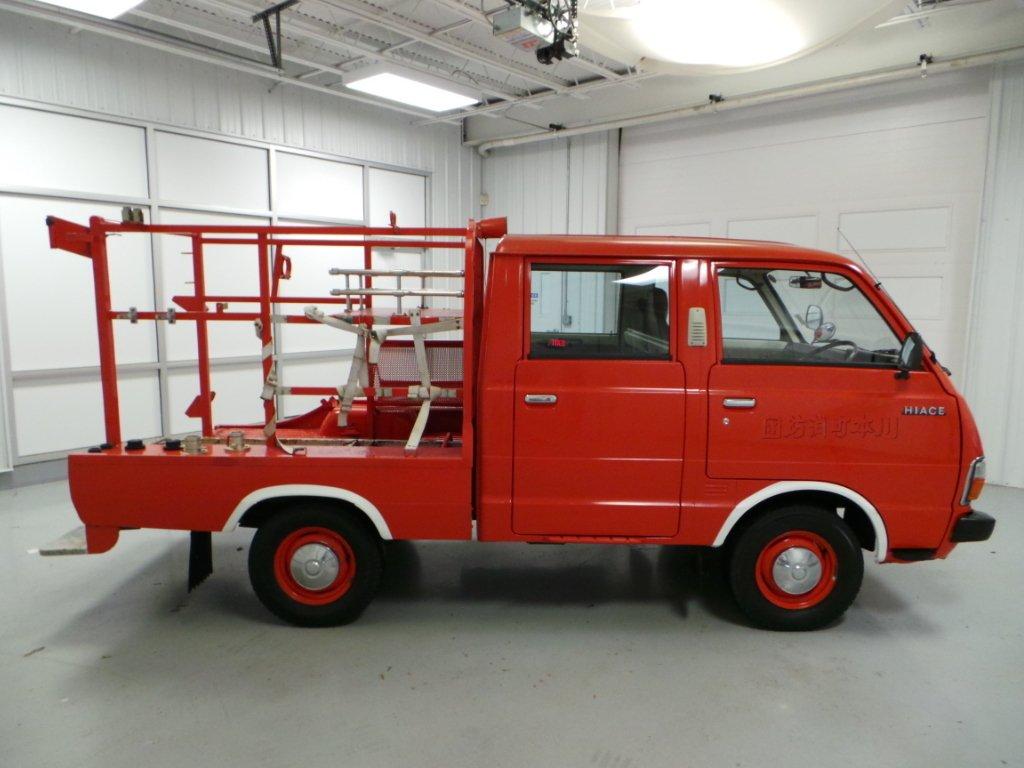 1981 toyota hiace firetruck