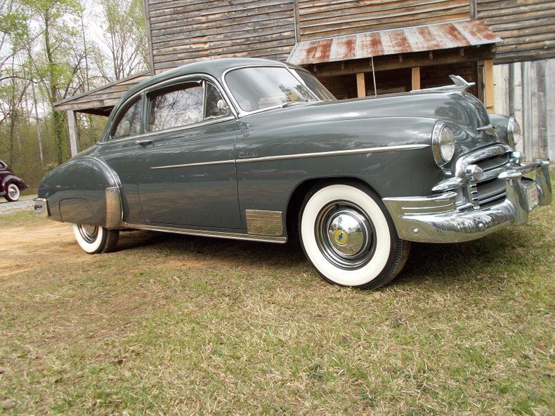 1950 chevrolet deluxe club coupe