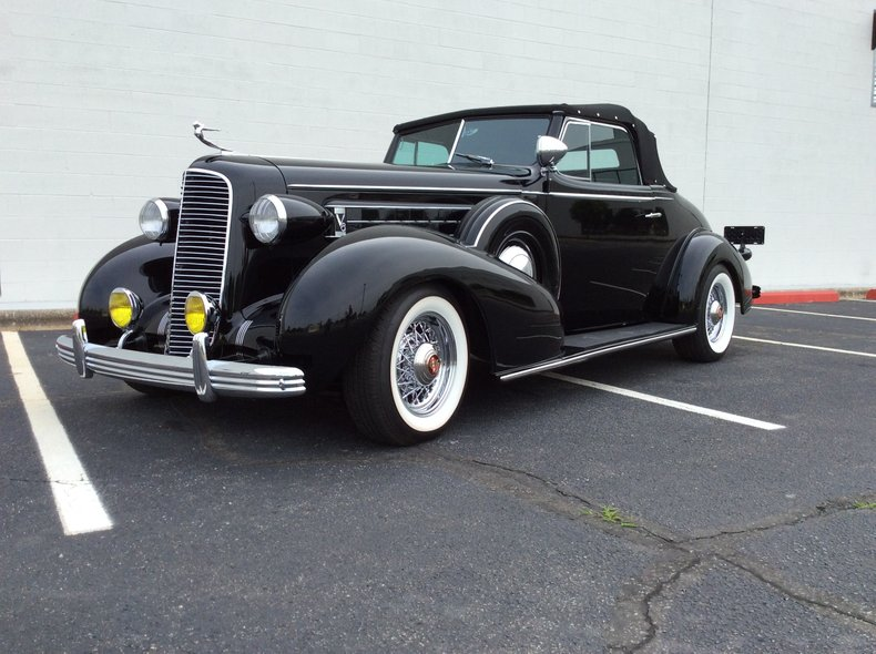 1936 Cadillac 355