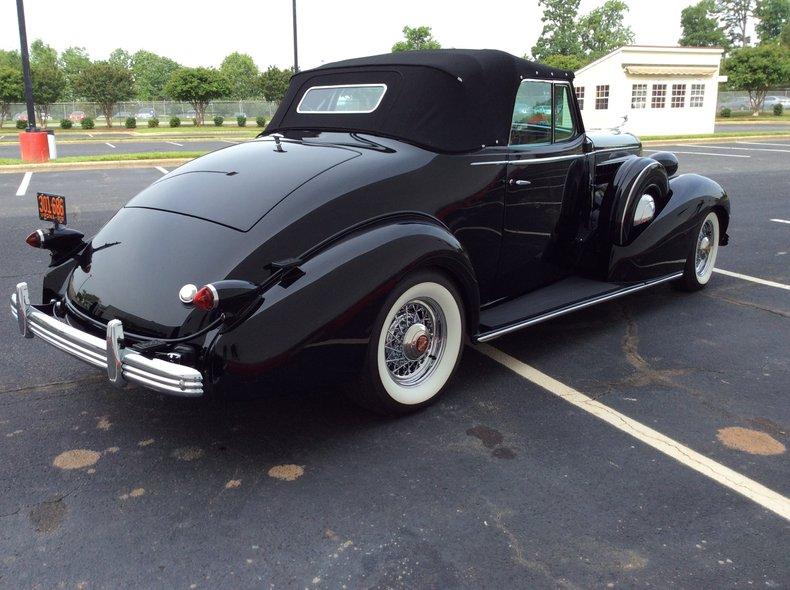 1936 cadillac 355 convertible