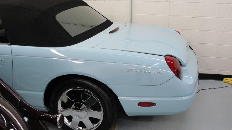 2003 ford thunderbird convertible