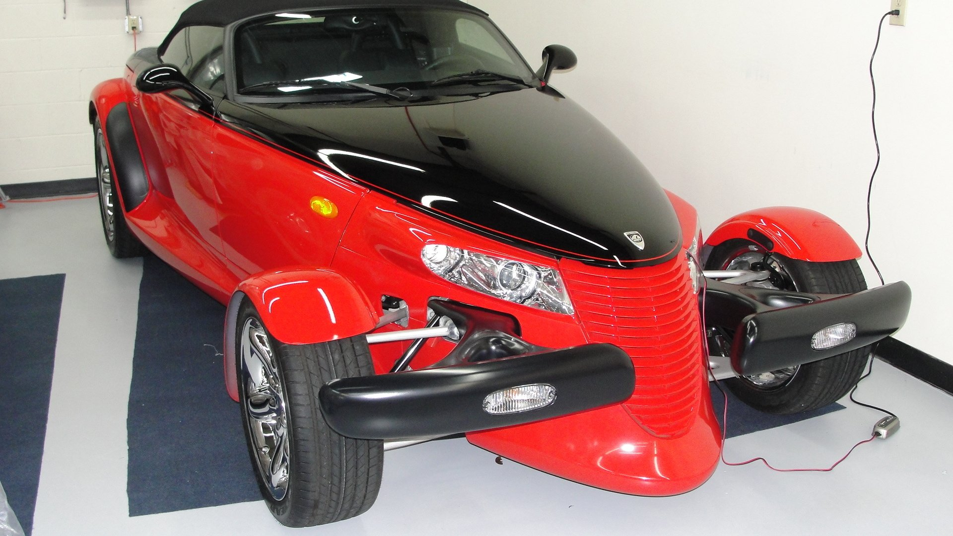 2000 plymouth prowler woodward edition