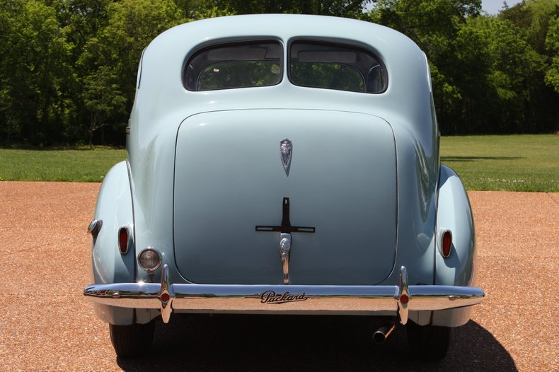 1940 packard 110 sedan