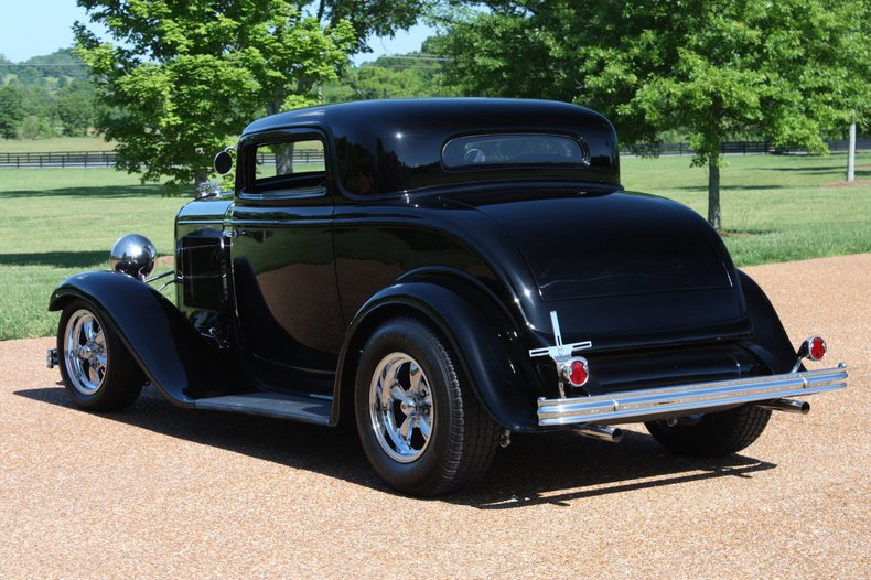 1932 ford 3 window coupe replica