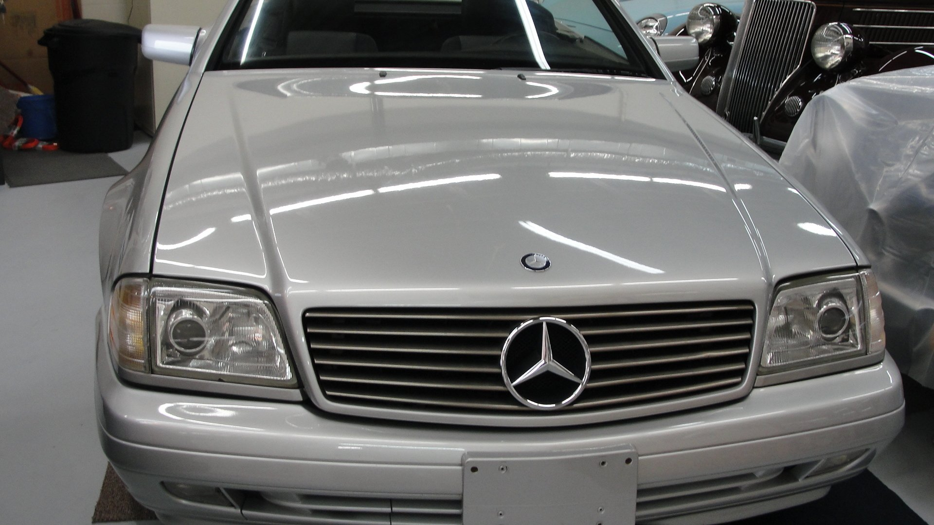 1998 mercedes benz sl600 roadster