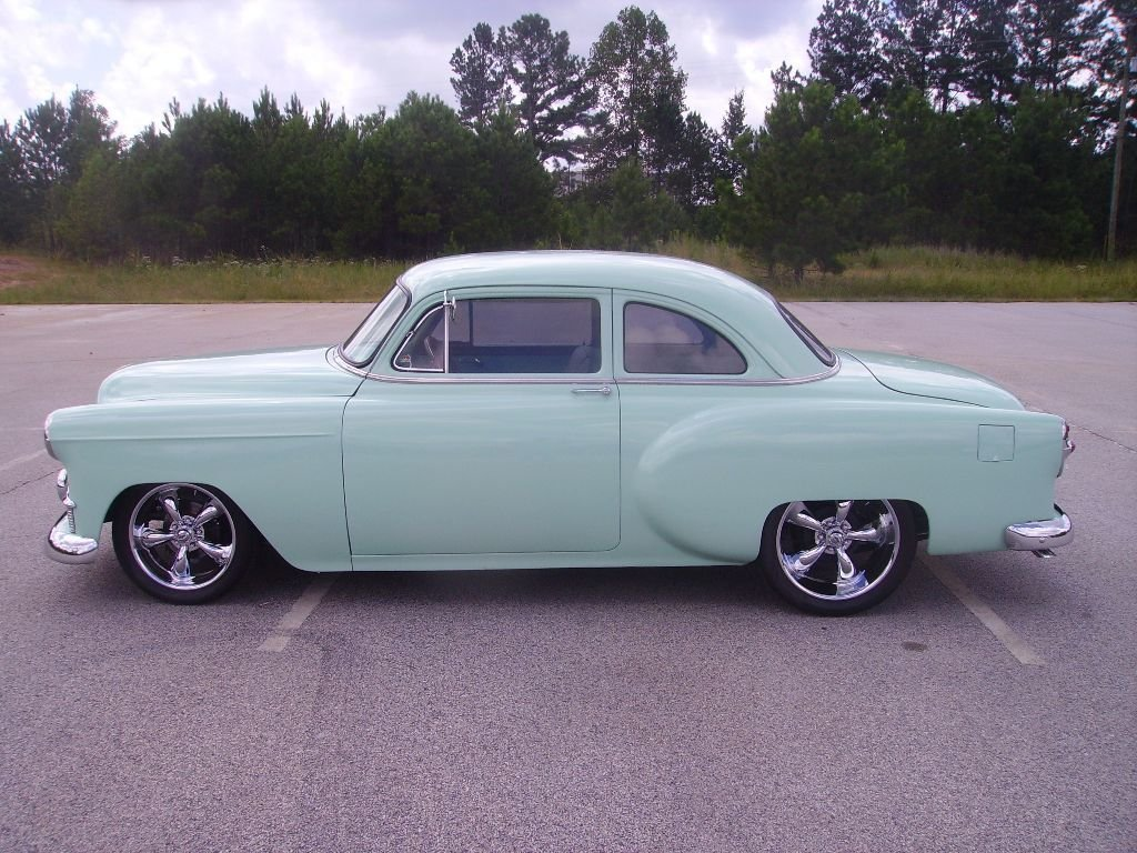 1953 chevrolet 210 business coupe
