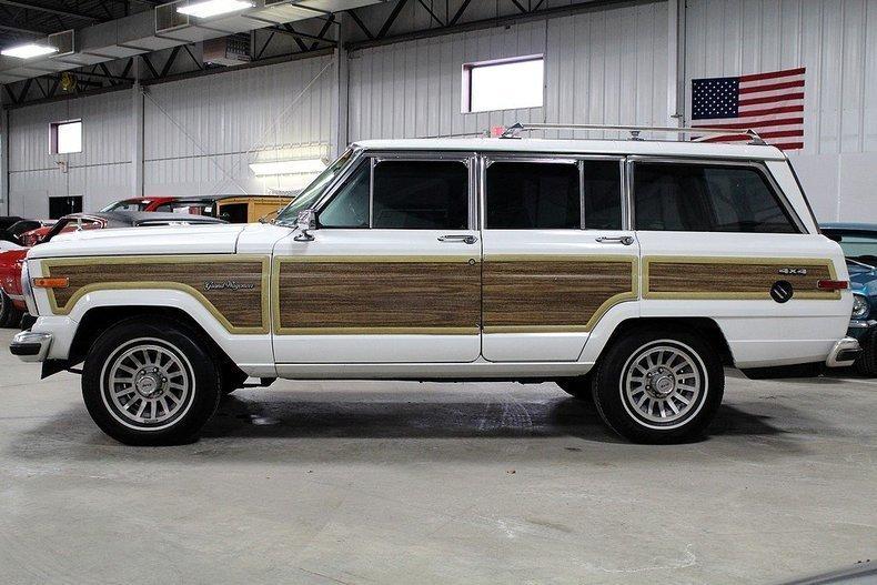 1987 american motors jeep grand wagoneer