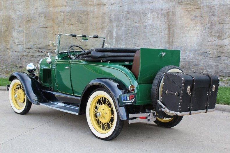1929 ford model a rumble seat