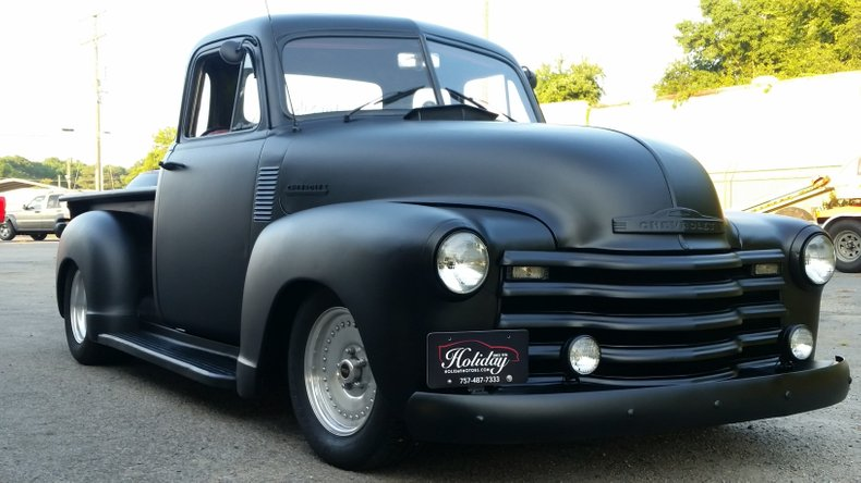 1953 chevrolet 5 window pickup
