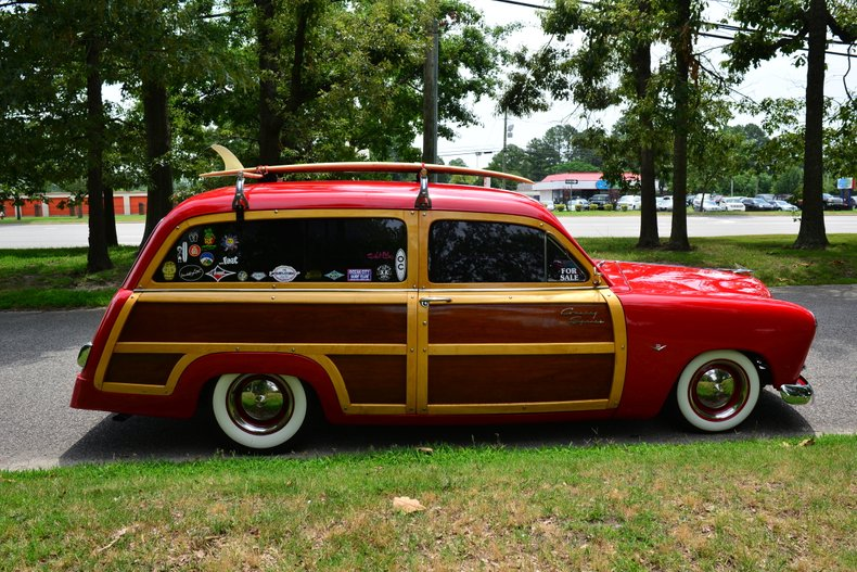 1951 ford country squire wagon