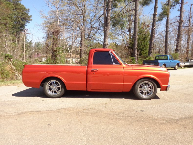 1969 chevrolet c10 fleetside