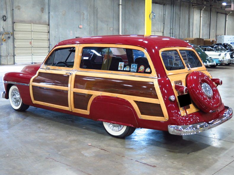 1950 mercury woody wagon