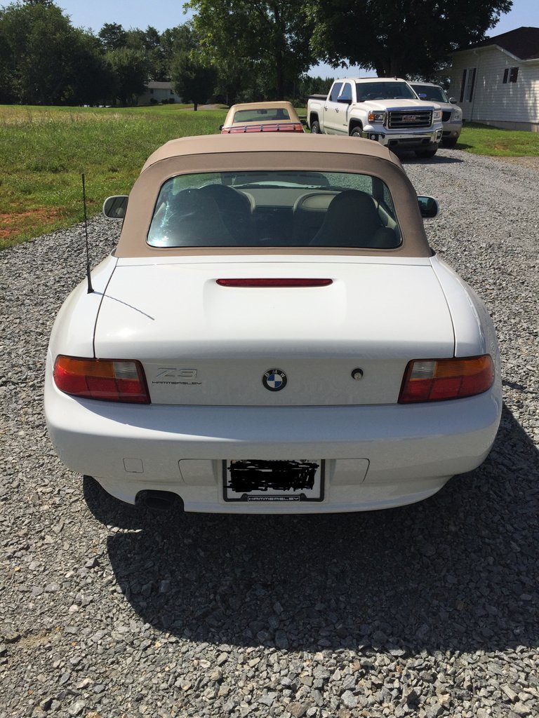 1997 bmw z3 roadster convertible