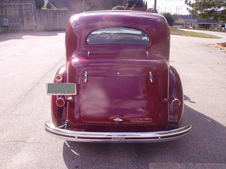 1936 packard 120 touring sedan