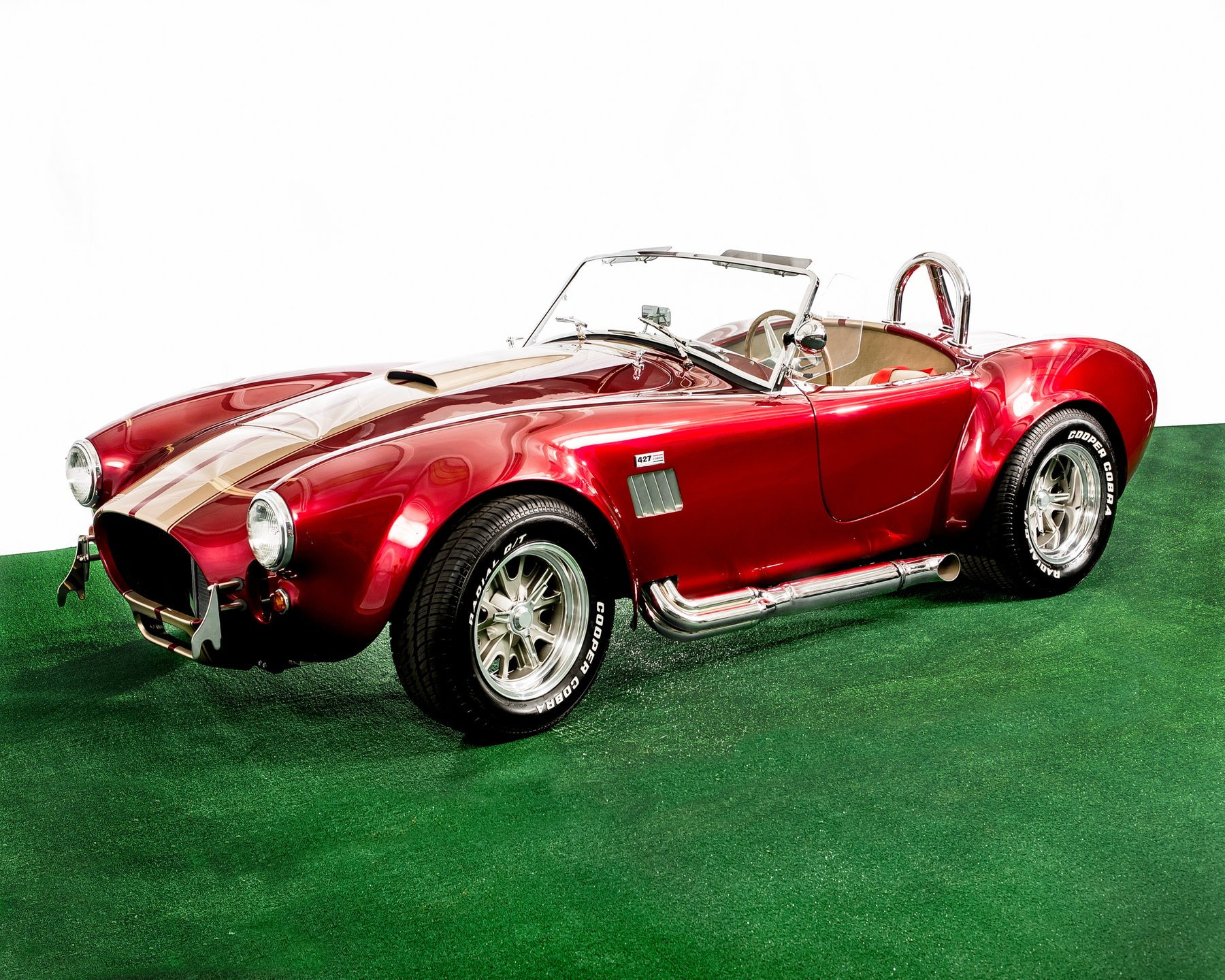 1967 cobra roadster replica