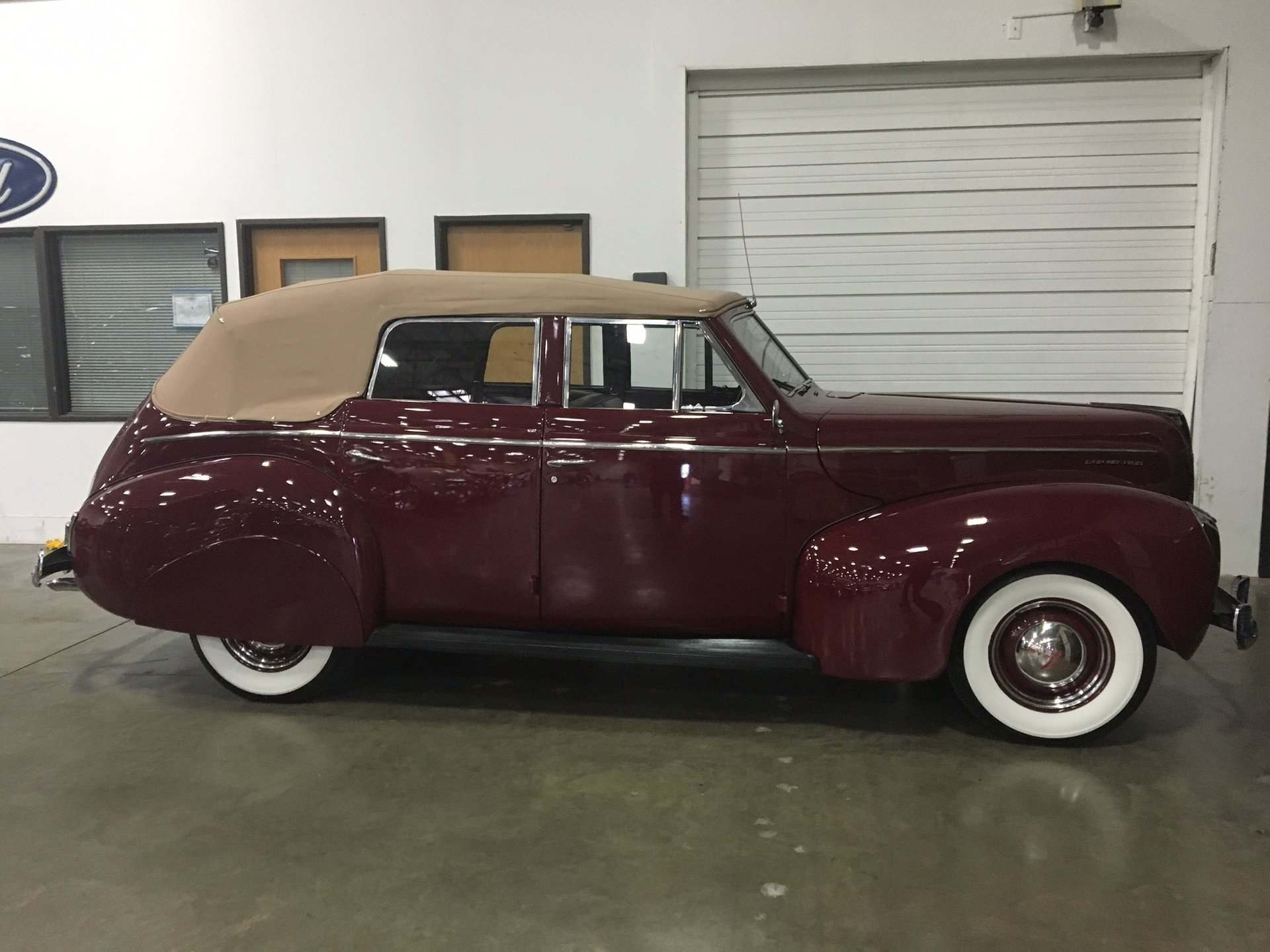 1940 mercury convertible
