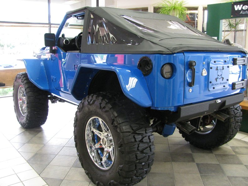 2009 jeep wrangler beach raider