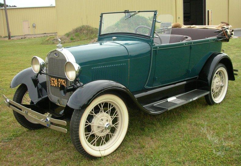 1928 ford model a phaeton