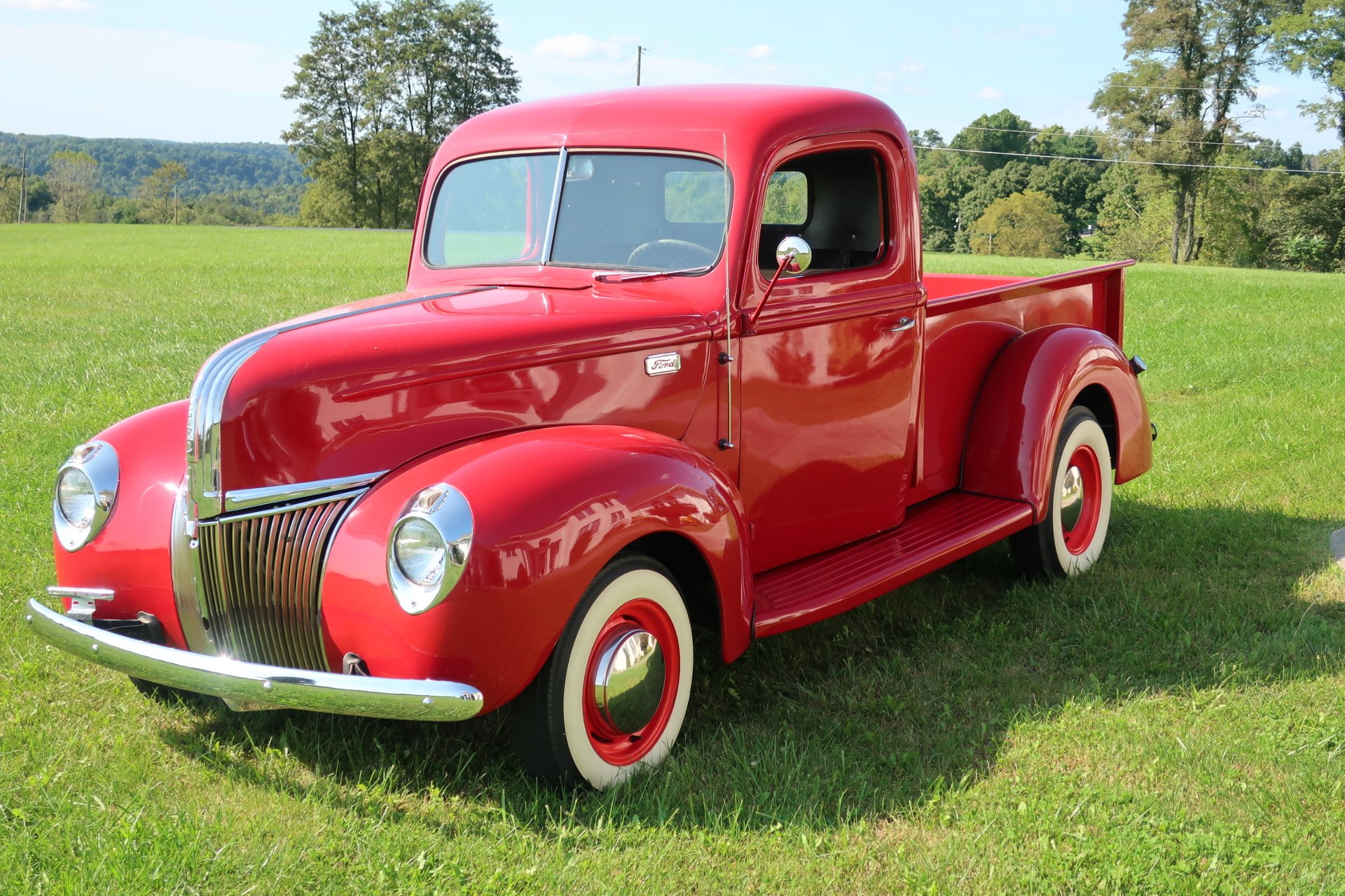 1941 Ford F100 Gaa Classic Cars Coupe Red